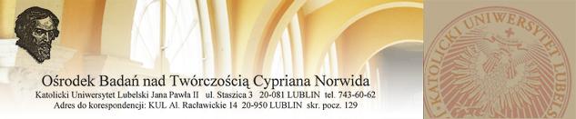 Rekomendacja KUL nowej płyty pt.: Norwid Gromy i Pyłki