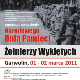 Garwolin Koncert Żołnierzy Wyklętych w marcu!