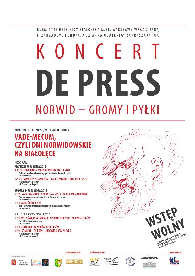 De Press Białołęka Norwid - Gromy i pyłki