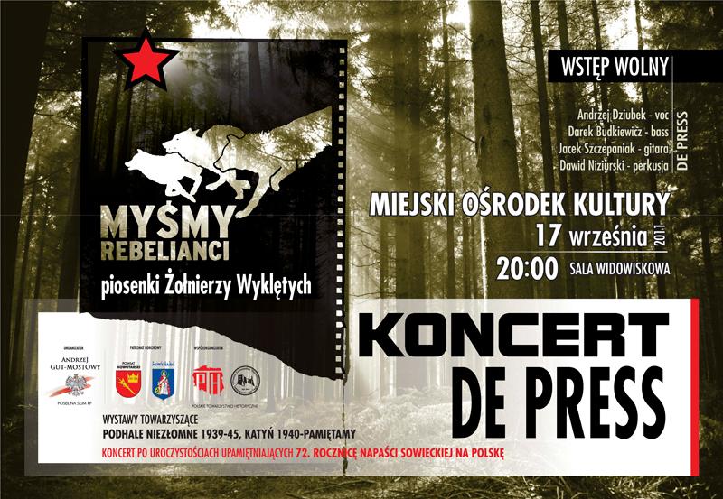 Koncert Myśmy Rebelianci w Nowym Targu