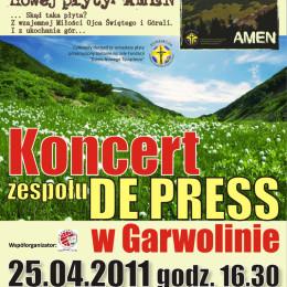 Koncert w Garwolinie – Premiera płyty Amen