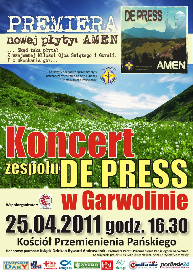 Koncert w Garwolinie