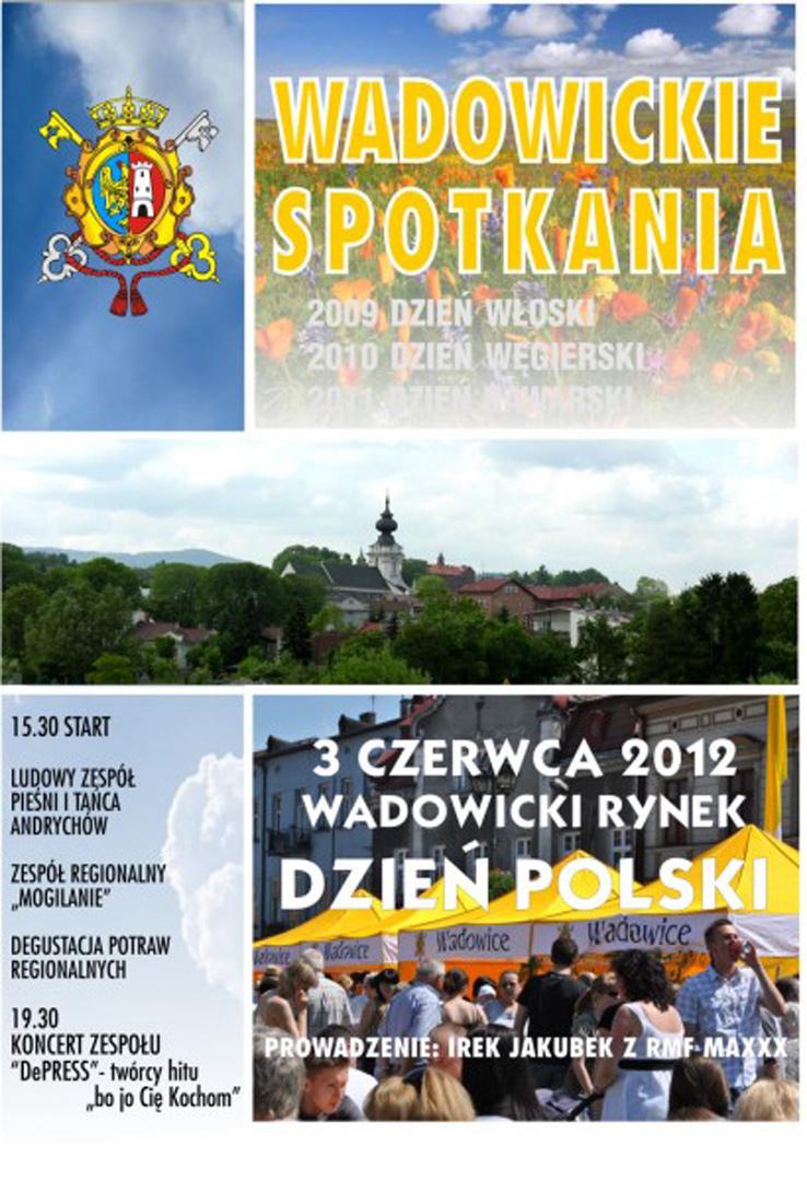 Wadowickie Spotkania 3 czerwca