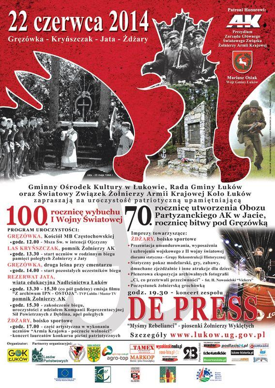 Siedemdziesiąta rocznica bitwy pod Gręzówką - ZS Gręzówka