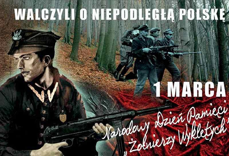 Obchody Dnia Pamięci Żołnierzy Wyklętych 1 marca 2015 w Kielcach