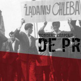 Koncert De Press – muzyczny hołd uczestnikom Czerwca'56