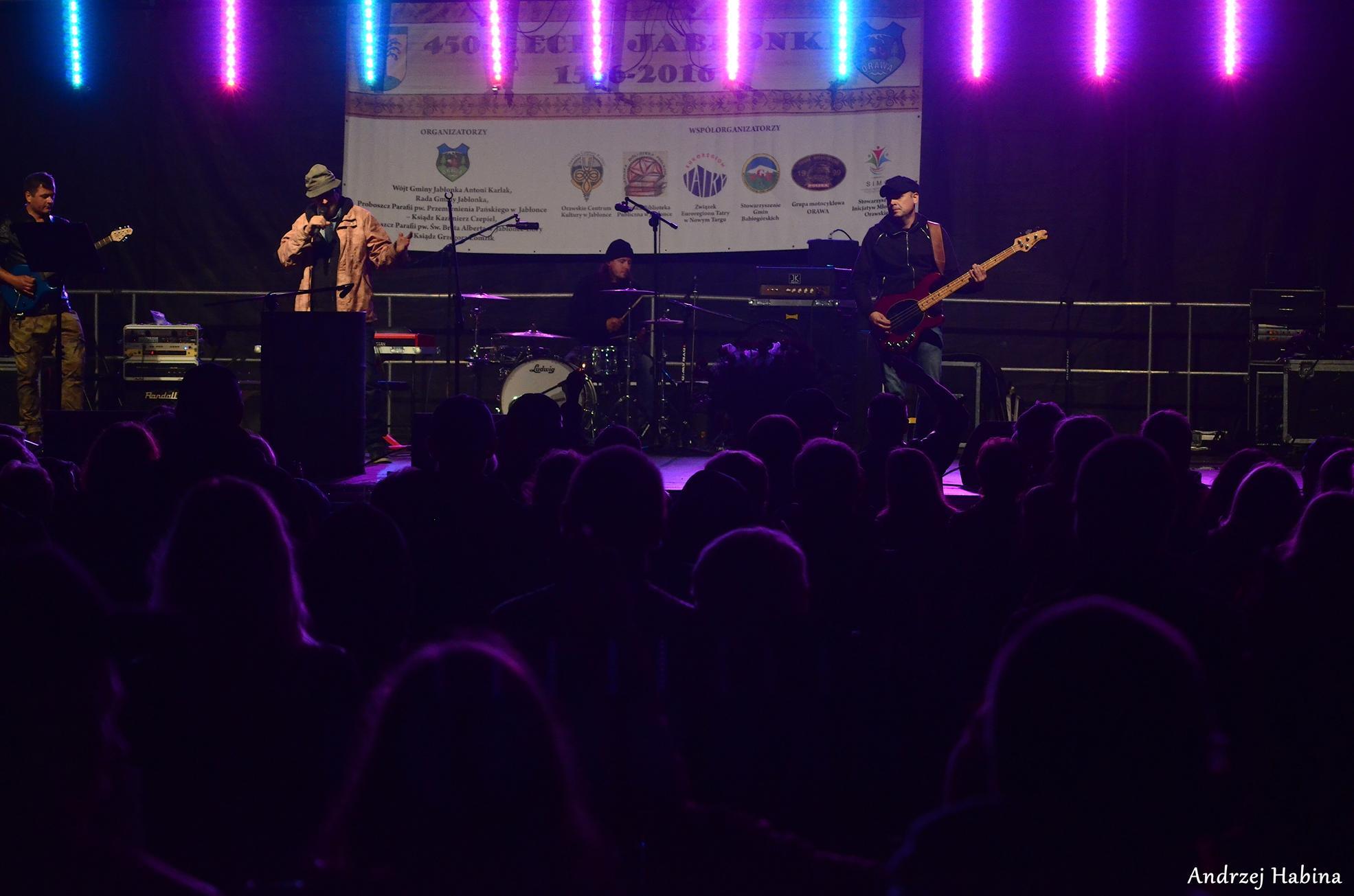 Urodzinowy koncert zespołu De Press w Jabłonce